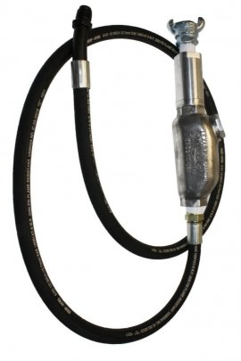 Hose Whip Assemblies With Filters/Lubricators