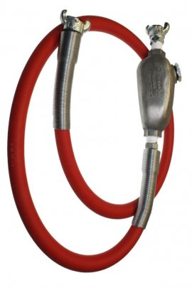 Hose Whip Assemblies With Constant Feed Lubricators