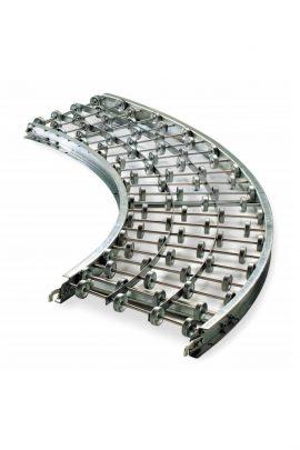 Gravity Skatewheel Curve Conveyor