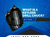What Is a Keyless Drill Chuck?