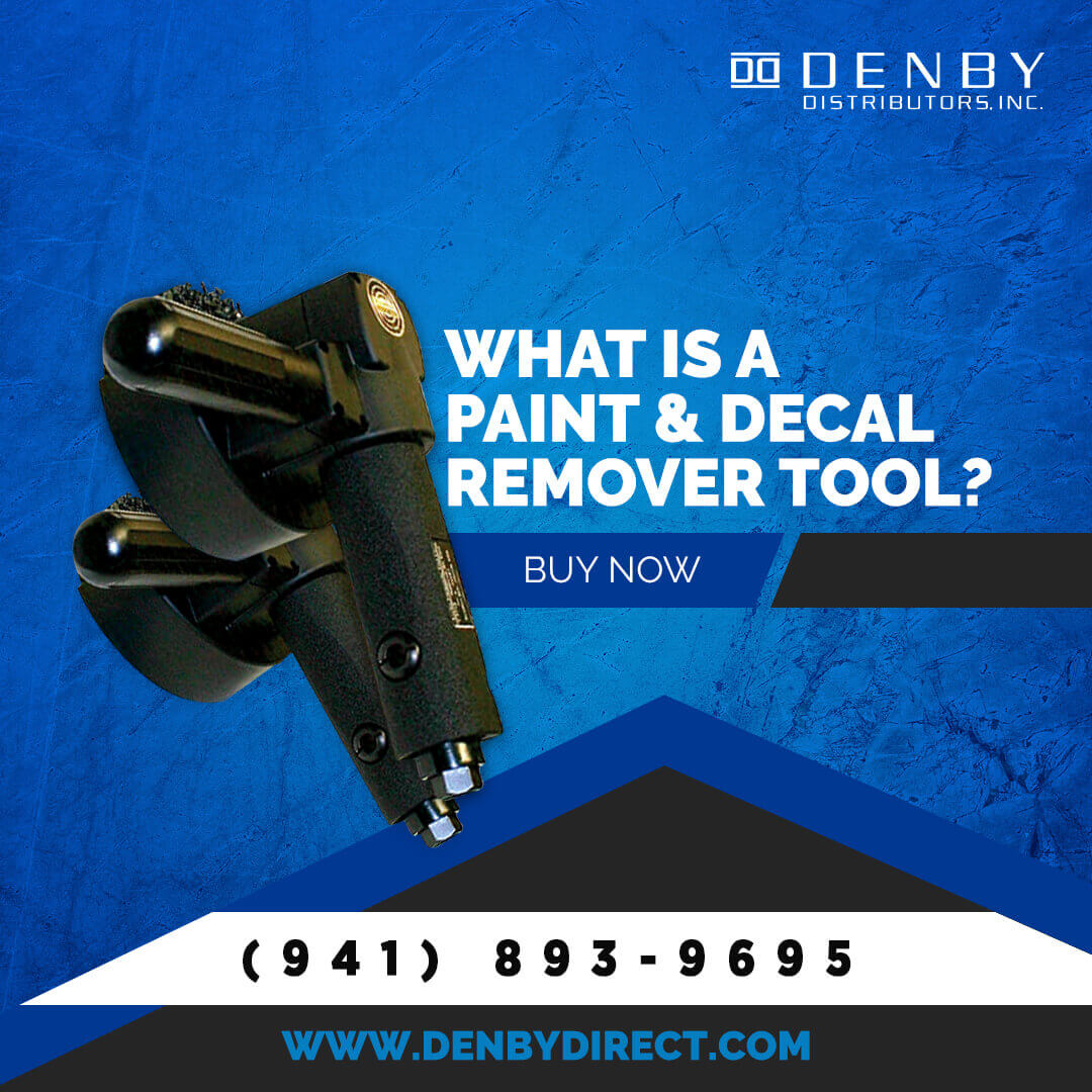 What Is a Paint and Decal Remover Tool?