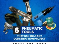 6 Pneumatic Tools That Can Help Any Construction Project