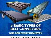7 Basic Types of Belt Conveyors – One For Every Industry