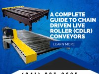 A Complete Guide to Chain Driven Live Roller (CDLR) Conveyors