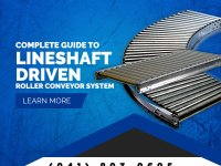 Complete Guide to Lineshaft Driven Roller Conveyor System