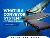 What is a Conveyor System? 5 Types And Their Uses